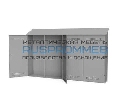 Металлический шкаф для рампы