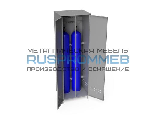 Шкаф для 2-х газовых баллонов ШГБК-021