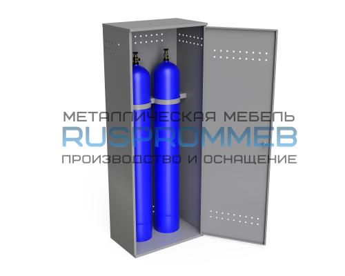 Шкаф для 2-х газовых баллонов ШГБК-М-02