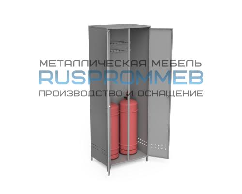 Шкаф для 2-х пропановых баллонов ШГБП-010 на ножках