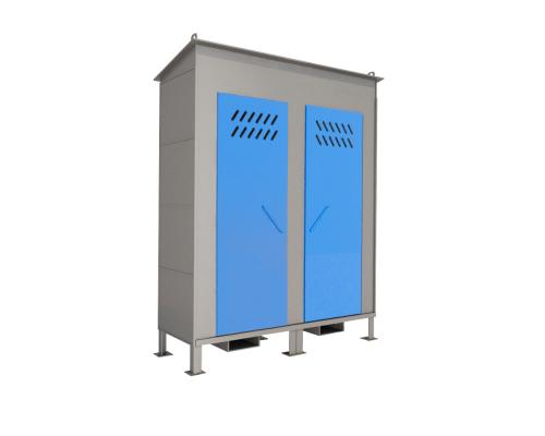 Шкаф ШХБ-01-02 (хранилище) для баллонов
