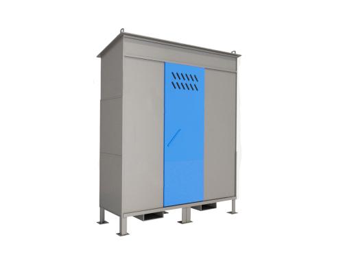 Шкаф ШХБ-02-02 (хранилище) для баллонов