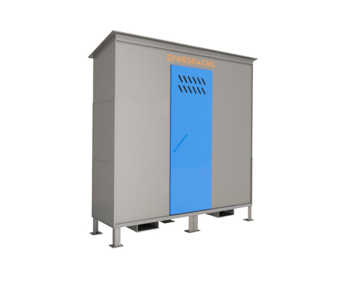 Шкаф ШХБ-03-02 (хранилище) для баллонов