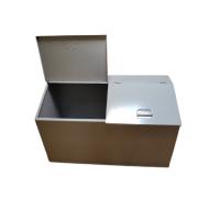Ящик для ветоши двухсекционный