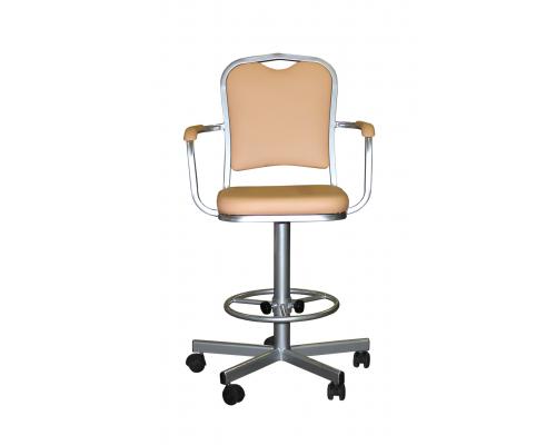 Кресло лабораторное на винтовой опоре КР02-1