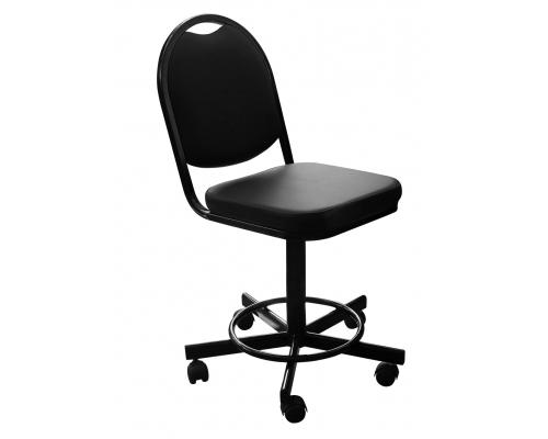 Кресло на винтовой опоре без подлокотников КР15