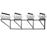 Гардеробная настенная вешалка М163-02