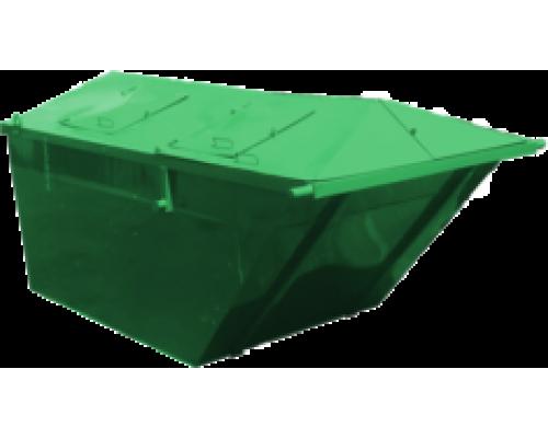 Мусорный контейнер лодочка 6м3