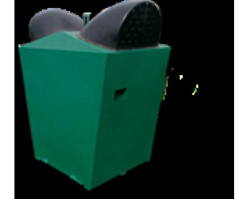 Контейнер К-1.5 металлический с открывающимся дном