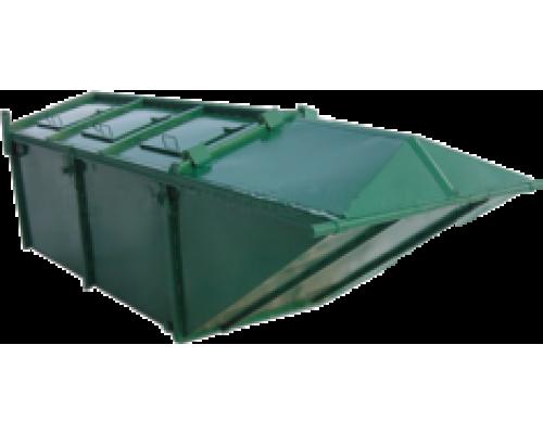 Мусорный контейнер лодочка 8м3