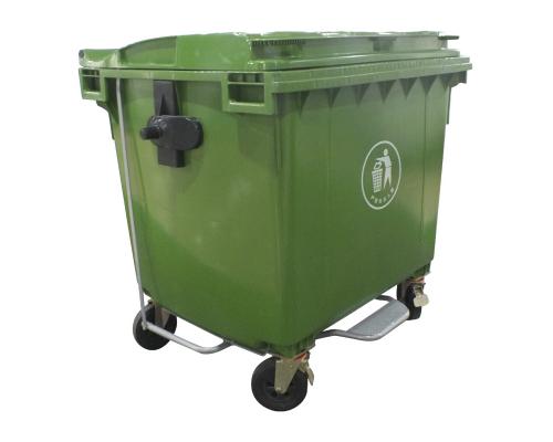Пластиковый контейнер 770 литров с педалью