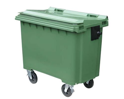 Пластиковый контейнер 660 литров