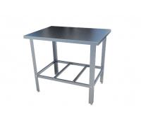 Стол с нержавеющим покрытием