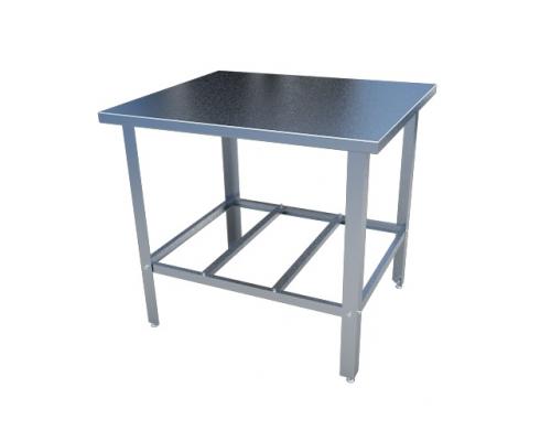Стол с нержавеющим покрытием для производства
