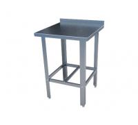 Стол с нержавеющим покрытием разделочный с бортом