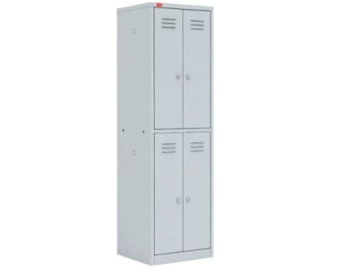 Архивный шкаф двухсекционный ШАМ-24