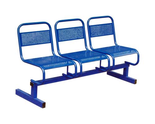 Секция стульев М112-03 с перфорацией