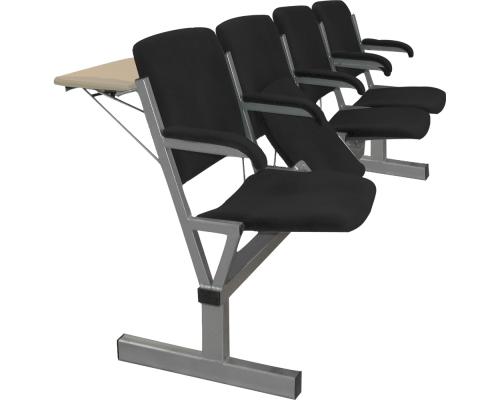 Блок стульев М116-034 с откидными сиденьями