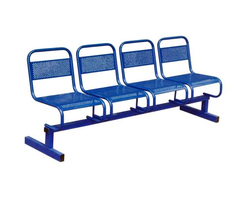 Секция стульев М112-01 с перфорацией