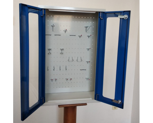 Инструментальный шкаф со смотровым окном (навесной)