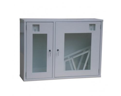 Шкаф для пожарного рукава и огнетушителя ШП-К-О-02 НСБ
