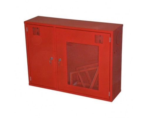 Шкаф для пожарного рукава и огнетушителя ШП-К-О-02 НСК