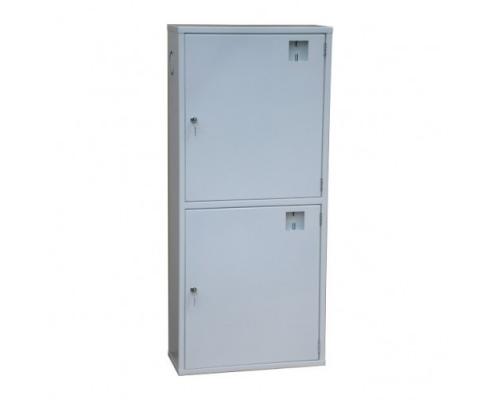 Шкаф для пожарного рукава и двух огнетушителей ШП-К-О-03 НМБ