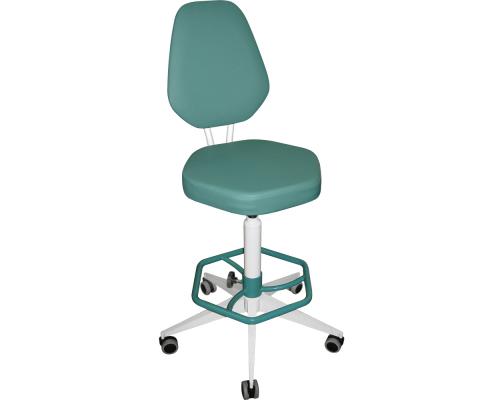 Кресло на винтовой опоре М106 с подлокотниками или без