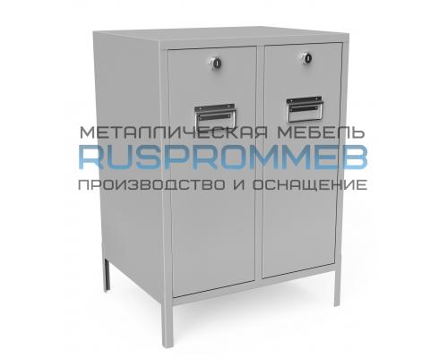 Ящик для чистой и грязной ветоши МКп-2-100